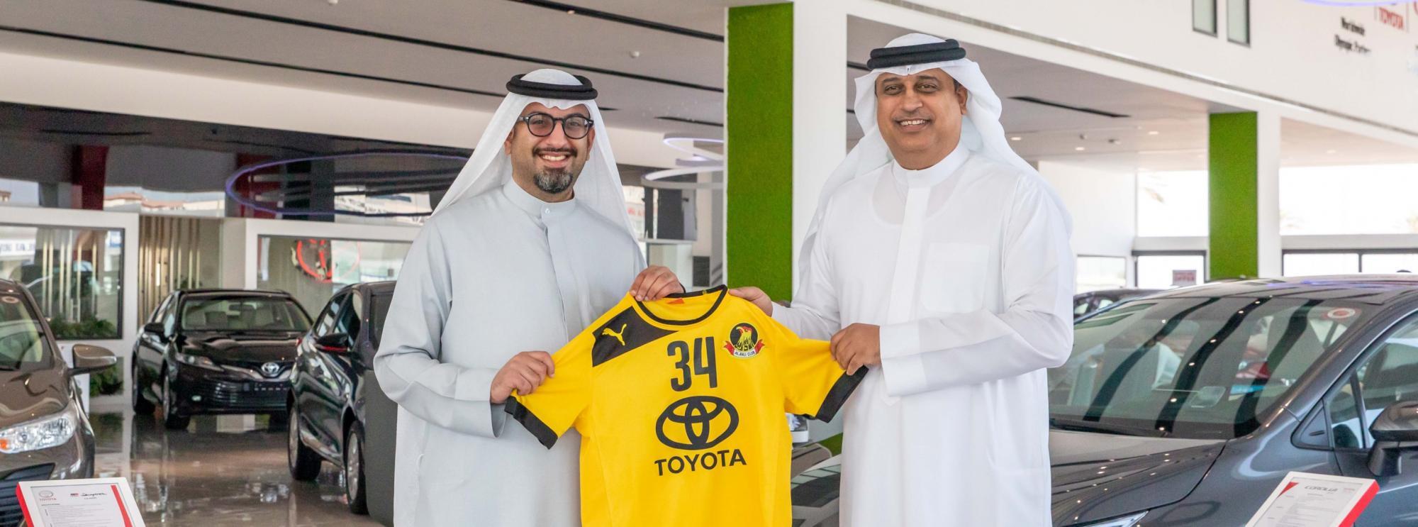 Ebrahim K. Kanoo and TOYOTA Support Al-Ahli Sports Club