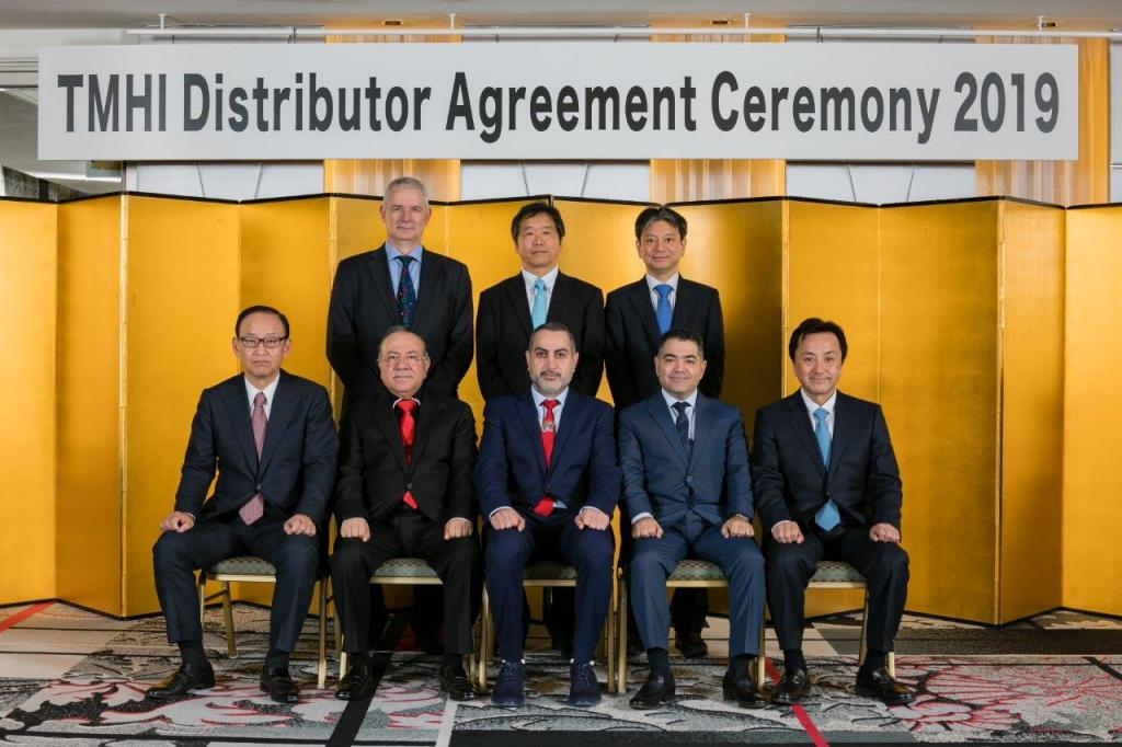 Ebrahim K. Kanoo Wins Toyota Industries Corporation Awards