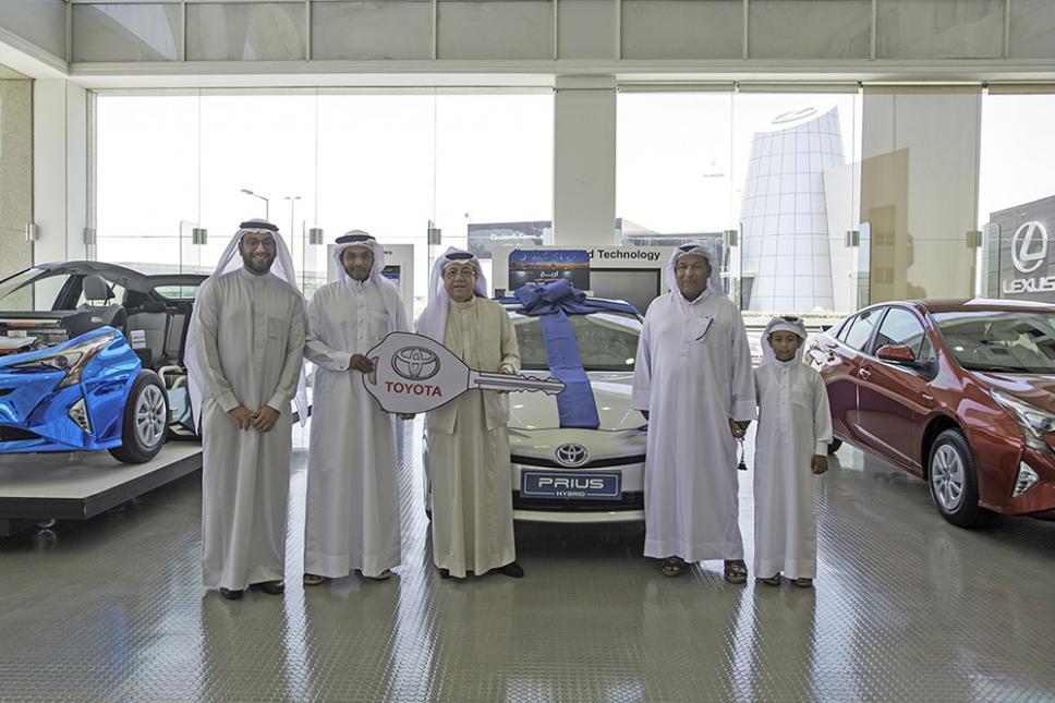 Toyota Raffle Grand Prize Winner Announced