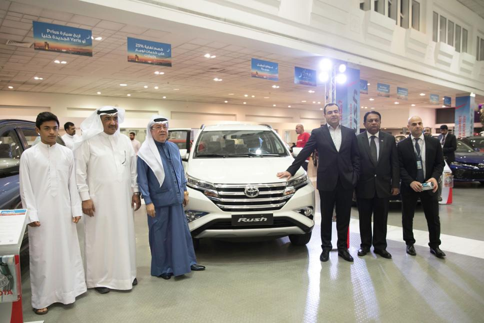 All New Toyota Rush Launched in Bahrain