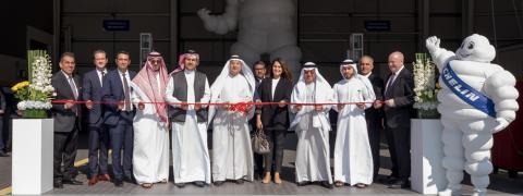 Ebrahim K. Kanoo Inaugurates Largest Dedicated Truck Service Centre