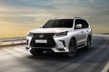 The Lexus 'LX570 Black Edition S' arrives in Bahrain