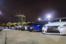 Ebrahim K. Kanoo Welcomes Lexus Fan Clubs at Drag & Drift Night