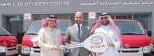 Ebrahim K. Kanoo Delivers Toyota Hiace Vans to Plus Rental