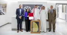 Ministry of Education Visits Ebrahim K. Kanoo