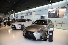 Ebrahim K. Kanoo introduces 'aggressive' new 2017 Lexus IS