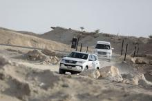 Toyota shows off 4X4 Capabilities at the BIC