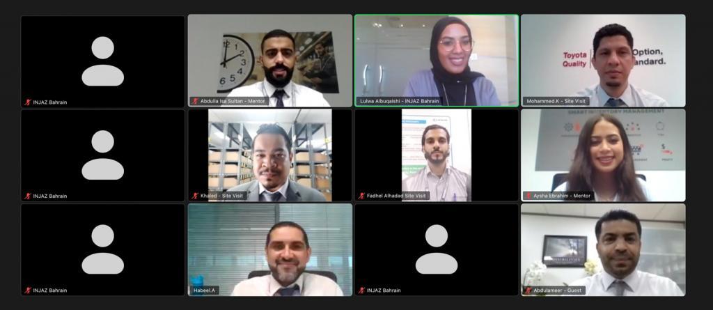 Ebrahim K. Kanoo Hosts First INJAZ Bahrain Virtual Job Shadow Event