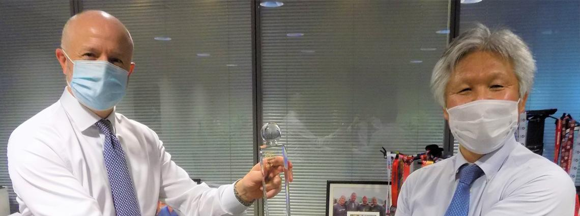 Ebrahim K. Kanoo Wins TOYOTA 'Customer Delight Excellence Award'