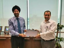 Ebrahim K. Kanoo Spare Parts Employee Recognised